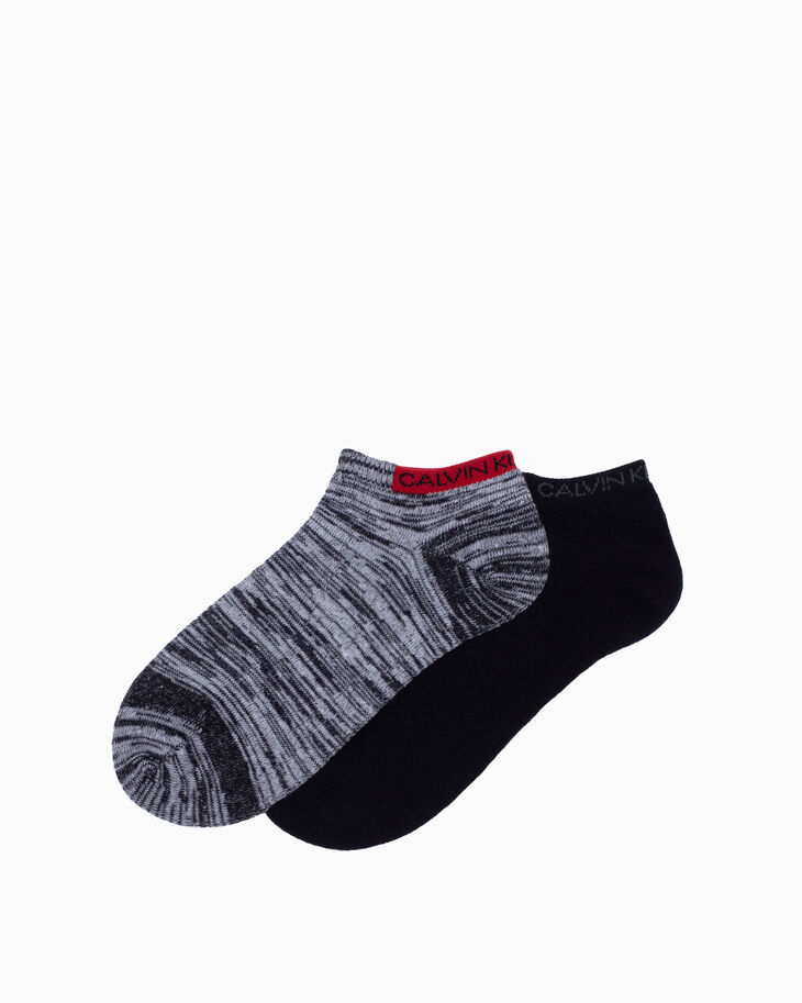 CALVIN KLEIN LOGO LOW CUT SOCKS