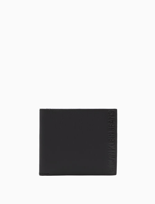 CALVIN KLEIN LOGO POP BILLFOLD WALLET