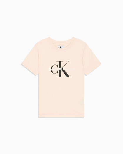 CALVIN KLEIN GIRLS MONOGRAM LOGO 上衣