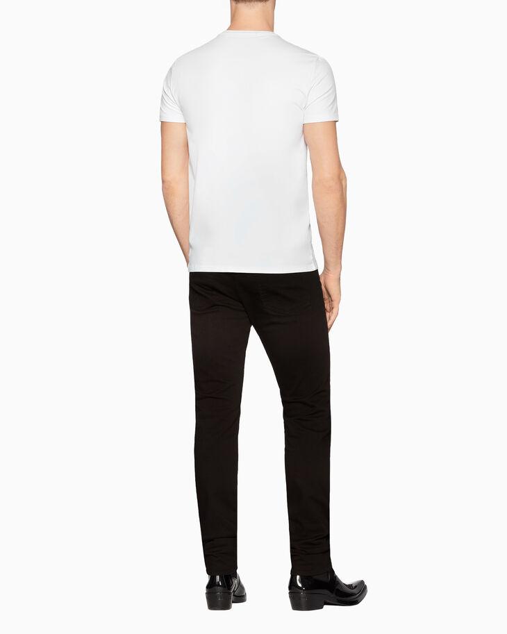 CALVIN KLEIN ROPE LOGO 슬림 티셔츠