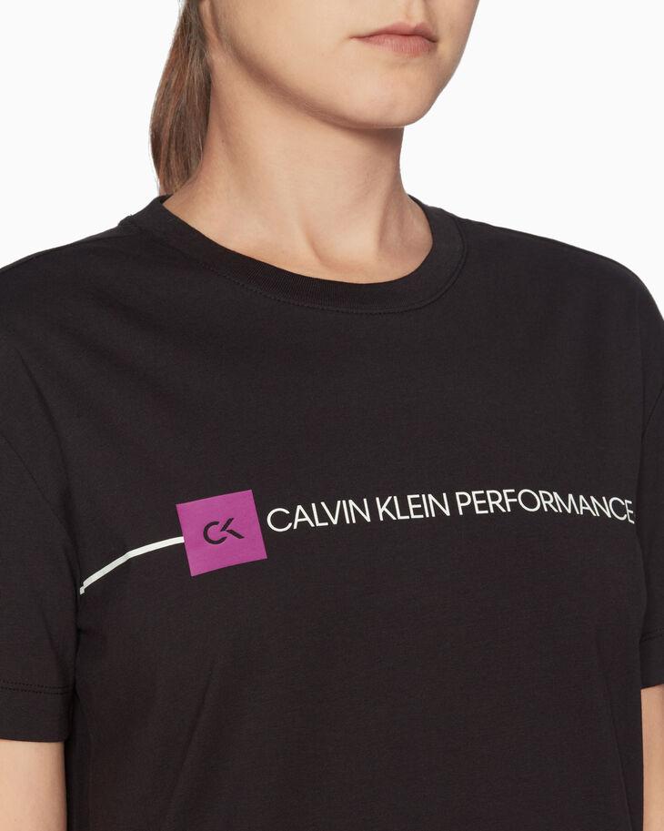 CALVIN KLEIN GRAPHICS LINEAR LOGO TEE
