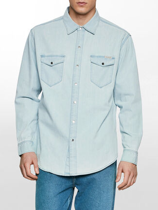 CALVIN KLEIN ソルティブリーチシャツ