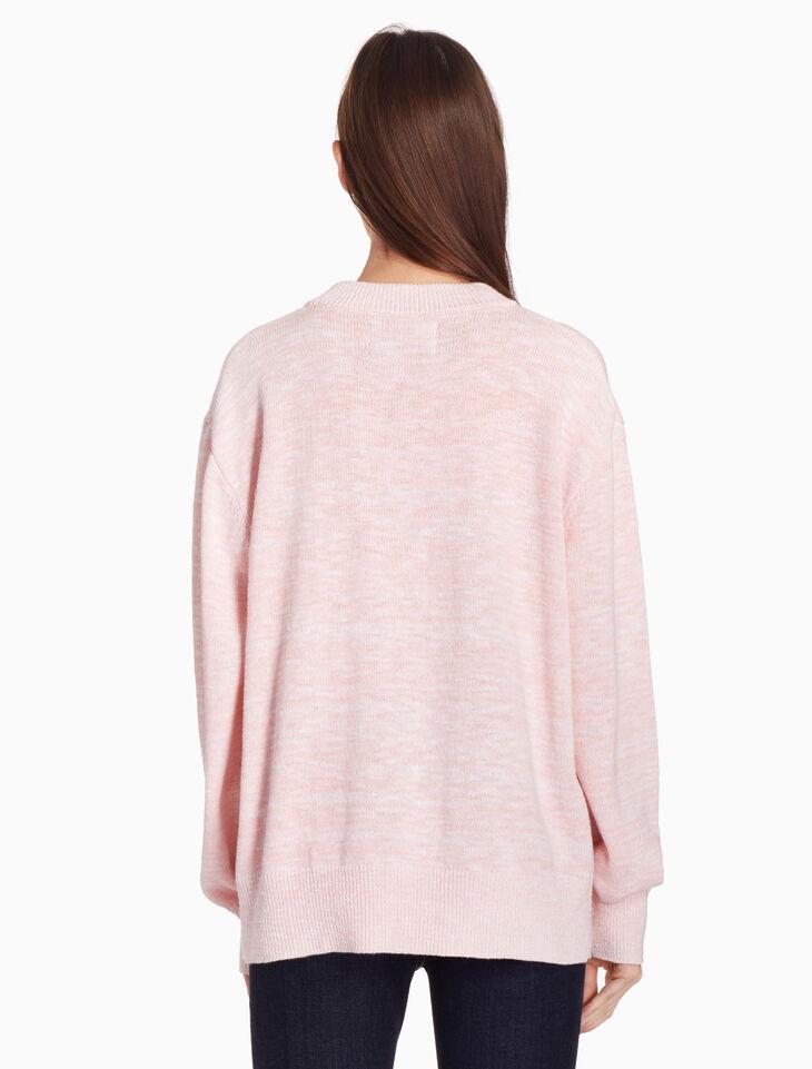 CALVIN KLEIN MARL 풀오버 스웨터