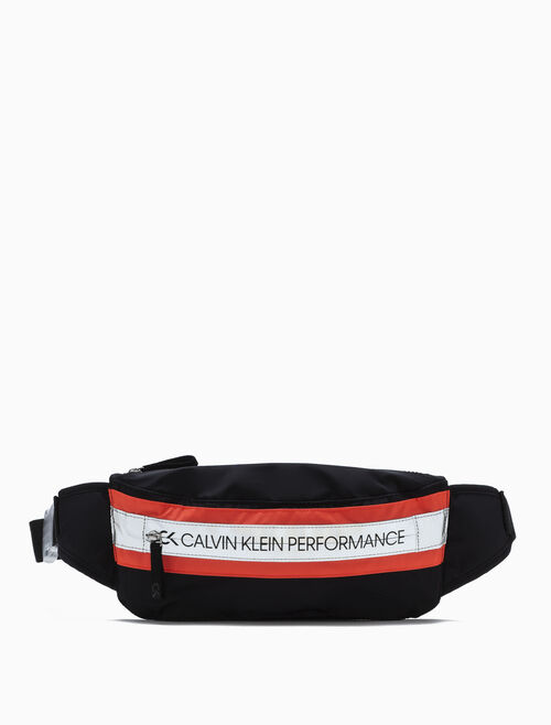 CALVIN KLEIN STRIPE BAND WAIST PACK