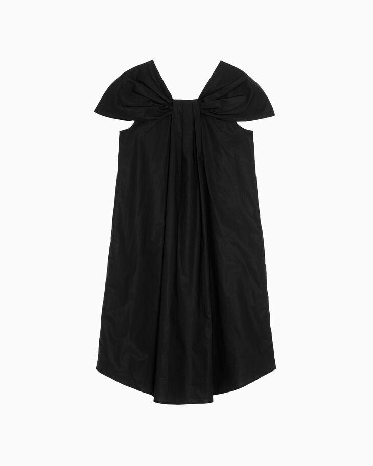 CALVIN KLEIN CONSTRUCTED POPLIN DRESS