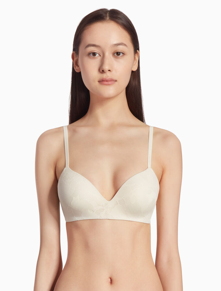 CALVIN KLEIN CK FORM LIGHTLY LINED DEMI BRA