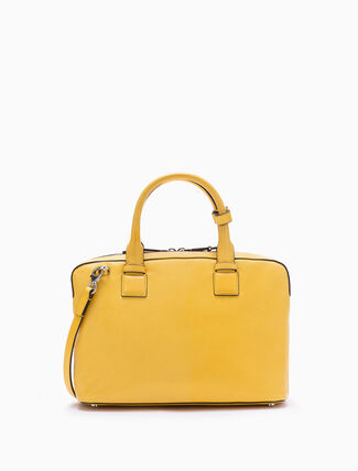 CALVIN KLEIN ENGINEERED SMALL SHOPPING TOTE WITH ZIPPER
