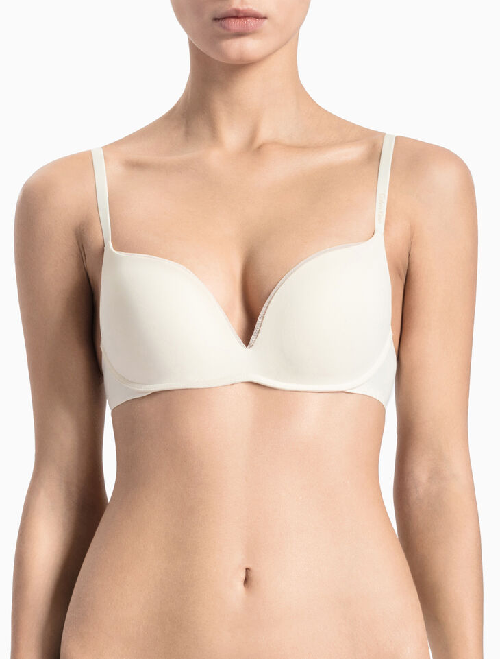 CALVIN KLEIN CK SCULPTED PUSH UP PLUNGE BRA
