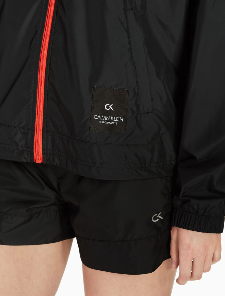 CALVIN KLEIN CONTRAST 윈드브레이커 재킷