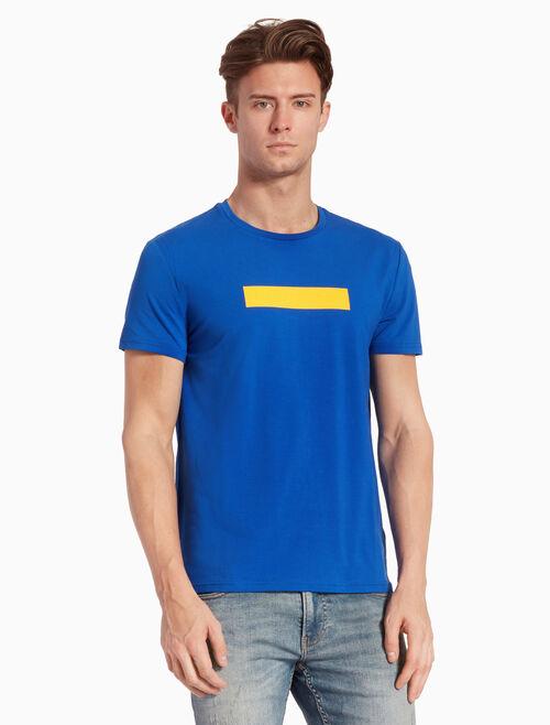 CALVIN KLEIN RUBBERIZED LOGO TAPE 티셔츠