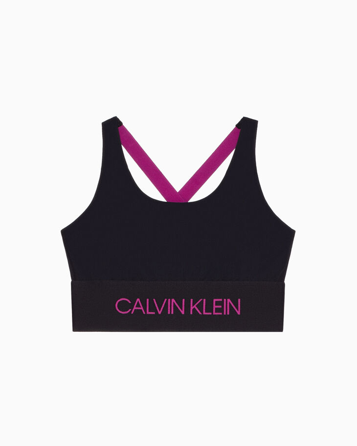 CALVIN KLEIN ACTIVE ICON CROSS BACK BRA