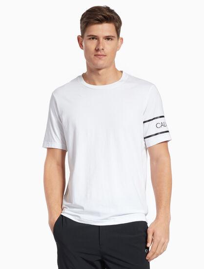 CALVIN KLEIN LOGO 암밴드 티셔츠