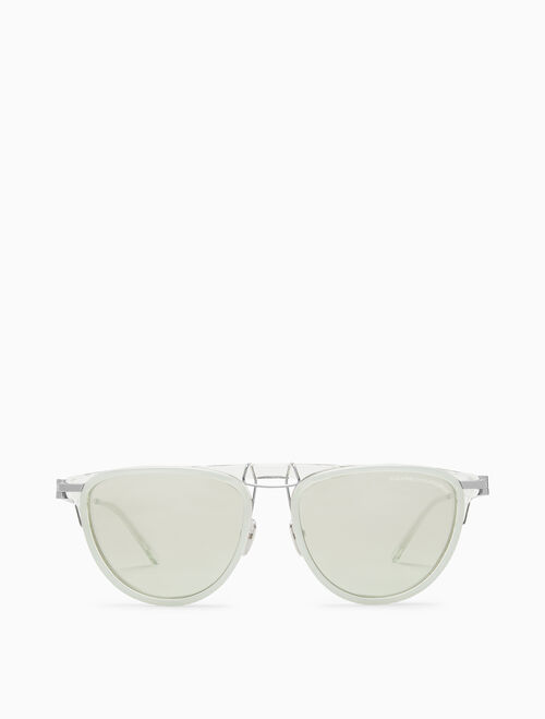 CALVIN KLEIN LAYERED ACETATE PILOT 선글라스