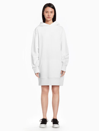CALVIN KLEIN Logo sweatshirt dress