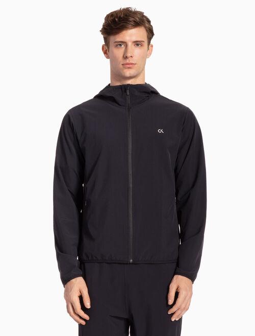 CALVIN KLEIN Hooded Windbreaker Jacket