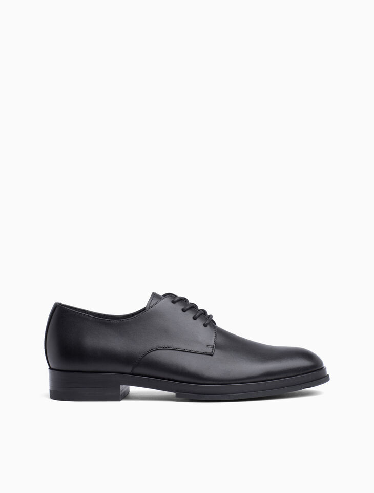 CALVIN KLEIN LEATHER LACE UP OXFORD SHOES