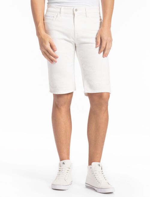 CALVIN KLEIN SLIM FIT SHORTS WITH LONG LEGS