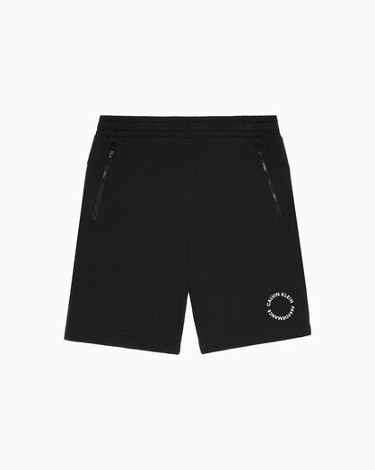 CALVIN KLEIN SPACE LINES KNIT SHORTS
