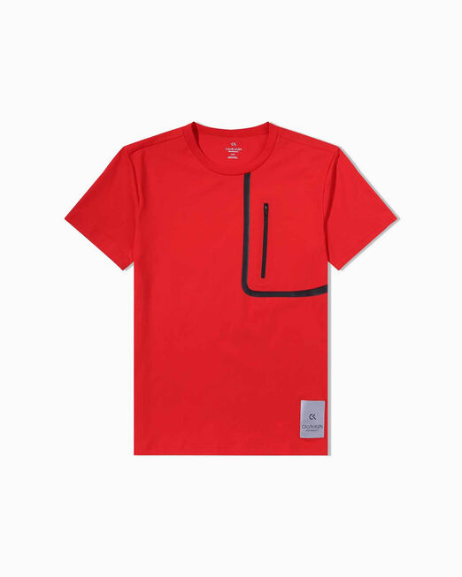 CALVIN KLEIN GALAXY TAPED POCKET TEE
