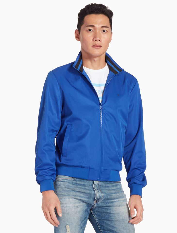 CALVIN KLEIN CORE NYLON ZIP UP JACKET