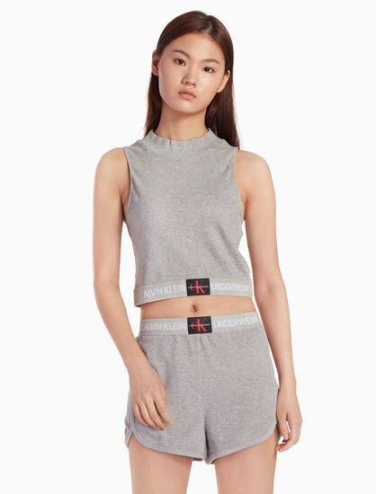 CALVIN KLEIN PERFORATED TANK TOP