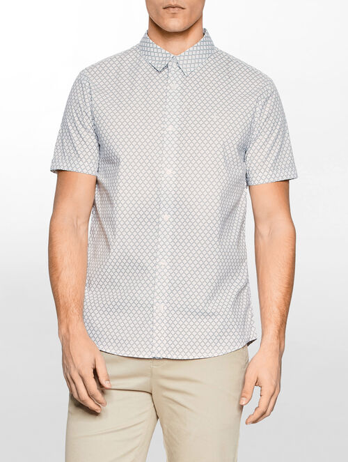CALVIN KLEIN WINGS 2 ALLOVER PRINT SHIRT