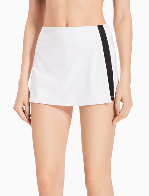 CALVIN KLEIN STRIPED SWEAT SHORTS