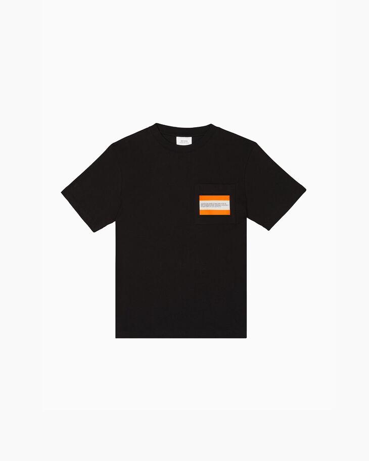 CALVIN KLEIN EST. 1978 LOGO 포켓 크루넥 티셔츠