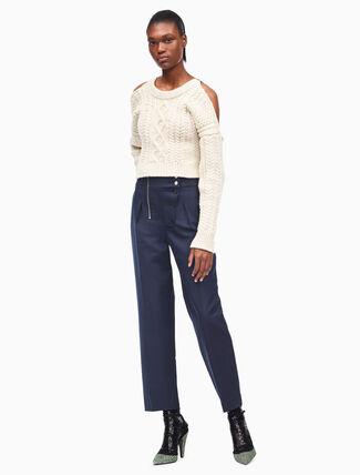 CALVIN KLEIN cotton boiler pants
