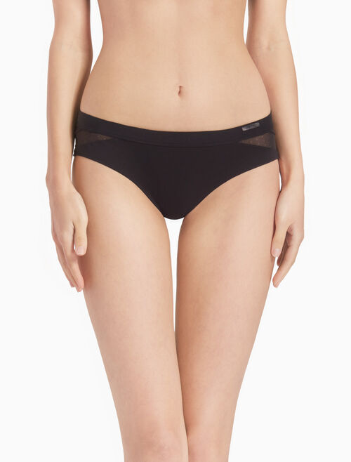 CALVIN KLEIN HIPSTER SHORTS WITH MESH