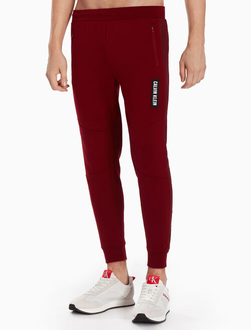 CALVIN KLEIN FABRIC BLOCK SWEATPANTS