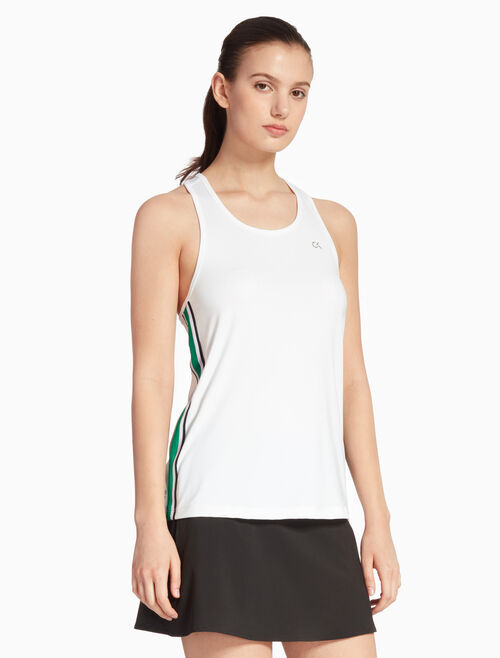 CALVIN KLEIN COOLCORE SIDE STRIPE TANK TOP