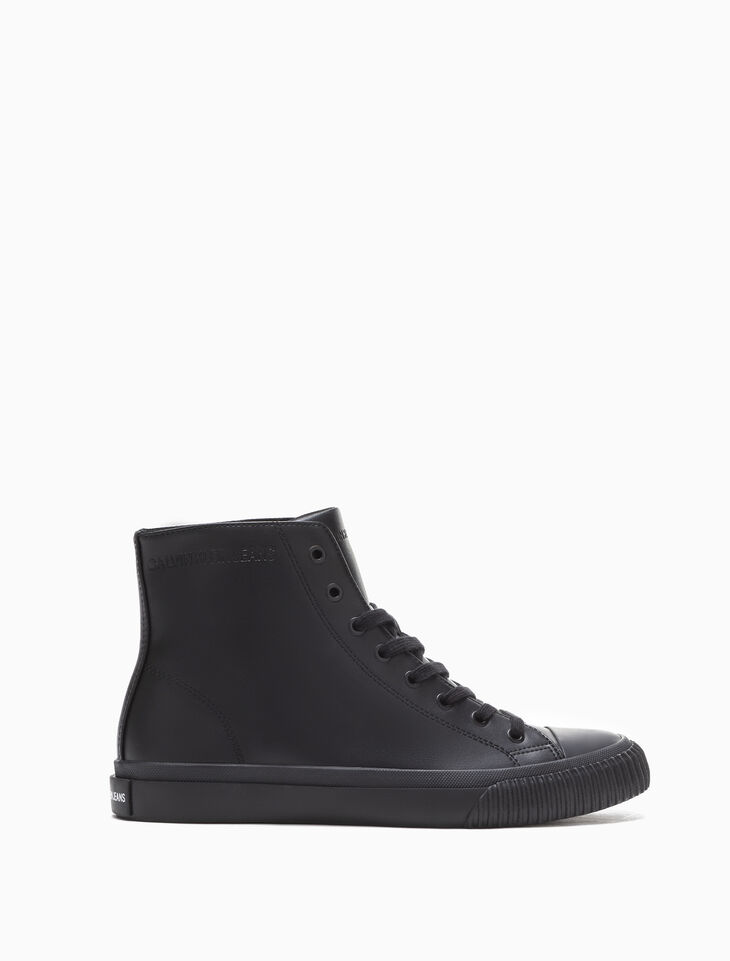 CALVIN KLEIN ICARO MONO HIGH TOP SNEAKERS