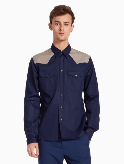 CALVIN KLEIN CLASSIC TWILL シャツ