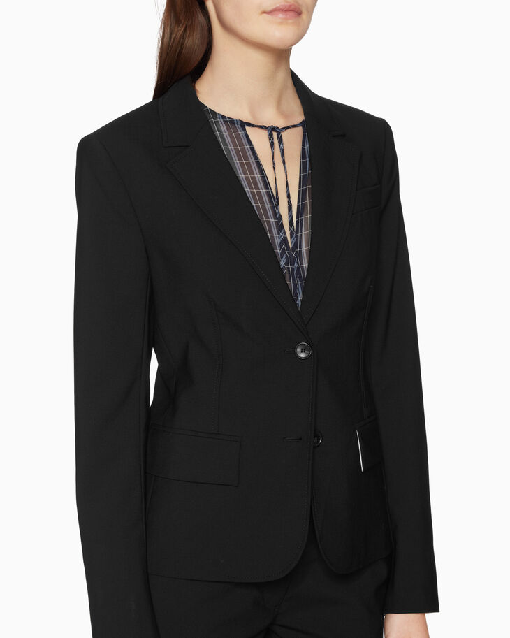 CALVIN KLEIN SLIM WOOL JACKET