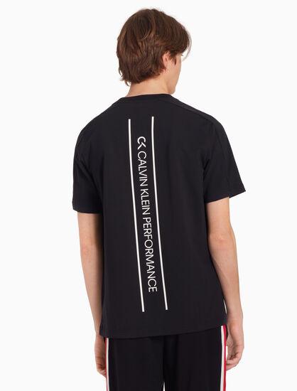 CALVIN KLEIN LOGO BACK 티셔츠