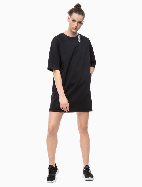 CALVIN KLEIN TECH SWEAT DRESS