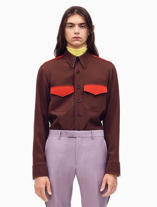 CALVIN KLEIN CLASSIC マーチングバンドユニフォームシャツ
