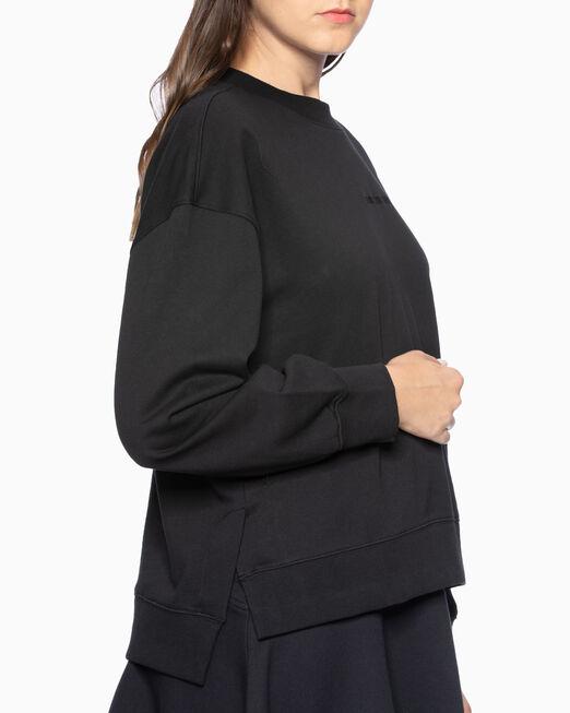 CALVIN KLEIN 여성 씨엔와이 크루넥 스웨트셔츠