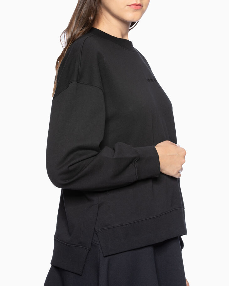 CALVIN KLEIN EMBROIDERED LOGO プルオーバー スウェットシャツ