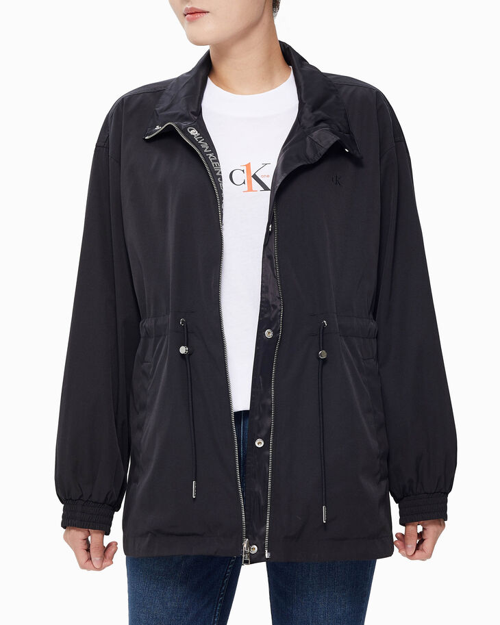CALVIN KLEIN REVERSIBLE FUNNEL NECK PARKA JACKET