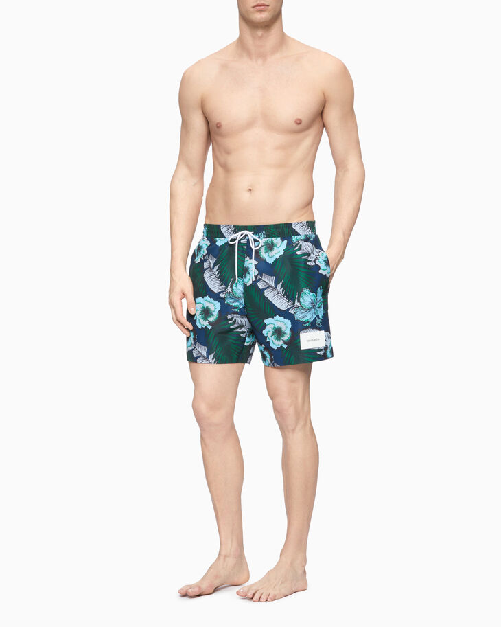 CALVIN KLEIN CORE SOLIDS MEDIUM DRAWSTRING SHORTS