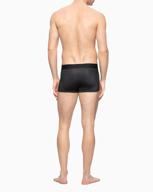 CALVIN KLEIN CK BLACK PRINT LOW RISE TRUNKS