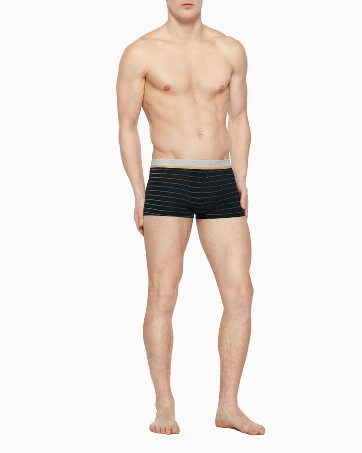 CALVIN KLEIN HOLIDAY SILVER MICRO LOW RISE TRUNK