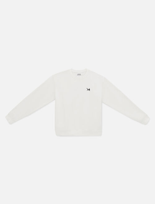 CALVIN KLEIN EST 1978 ICON EMBROIDERED 크루넥 스웨트셔츠