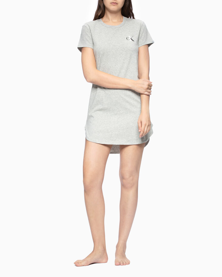 CALVIN KLEIN CK ONE BASIC LOUNGE JERSEY DRESS