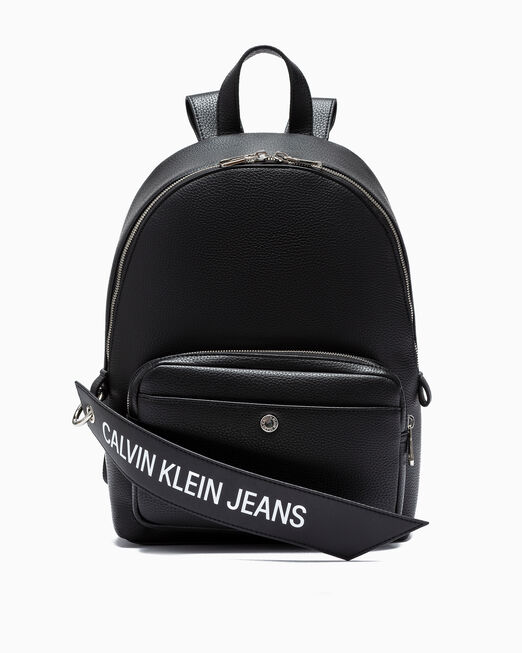 CALVIN KLEIN LOGO BANNER CAMPUS BACKPACK 35