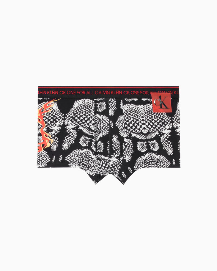CALVIN KLEIN CK ONE ALL-OVER PRINT LOW RISE TRUNKS