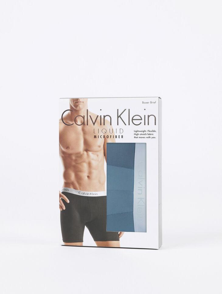 CALVIN KLEIN LIQUID STRETCH BOXER BRIEF