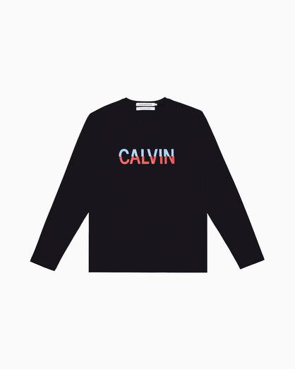 CALVIN KLEIN CALVIN ロングスリーブ T シャツ